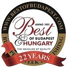 Ambiance Travel - Boutique Utazások - Best_of_Budapest díj - award 2014 SQ Small 80.jpg