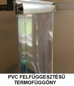 pvc felfüggesztésű termofüggöny