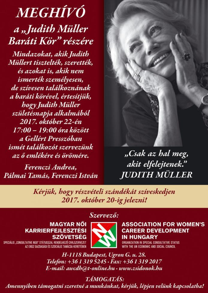 Judith Müller Baráti Kör plakát 2017 nagy.jpg