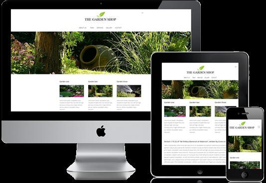 Siteice honlapkészítés-Gardenshop