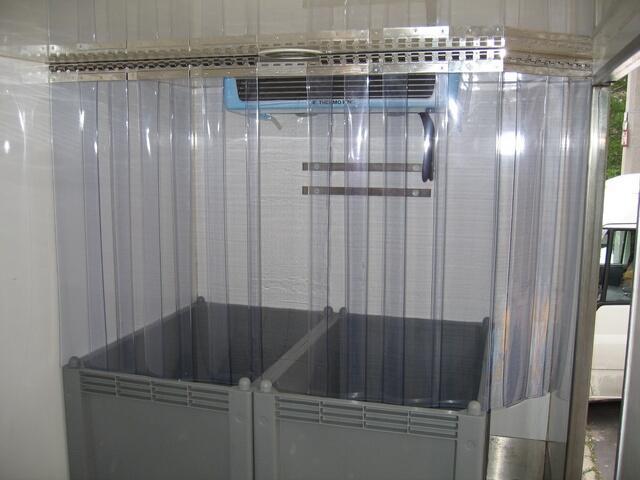 Termofüggöny hűtőkamrákra, hűtőautókra